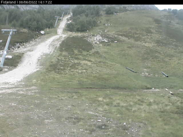 Webcam Fidjeland, Sirdal, Vest-Agder, Norwegen